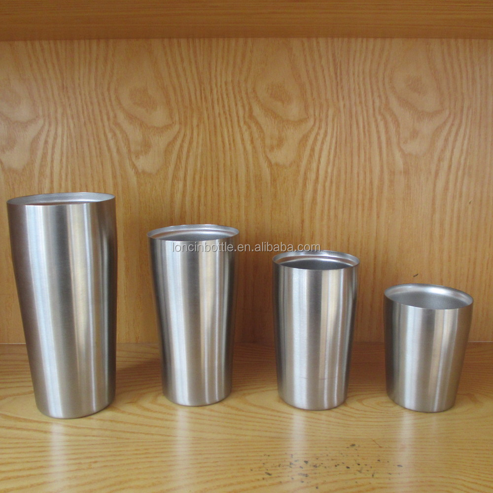 wholesale insulated beer tumbler 2015 new brilliant stainless steel tumblers 24oz drinking glass. Black Bedroom Furniture Sets. Home Design Ideas