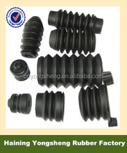 EPDM NBR NR SBR custom dustproof waterproof rubber flexible bellows Twisted bent rubber connectors for tube hose tubing
