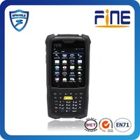 Handheld Computer Style and Dual Core 1.2GHz Processor Type 3g rugged rfid pda with barcode scanner