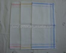 100% cotton 2015 new fashion colour deisgns woven handkerchief for ladies hot sale