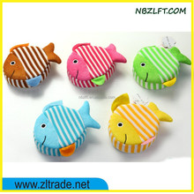 BODY SHOWER SPONGE WITH FISH SHAPE