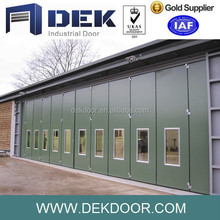 Functional promotional folding doors installation