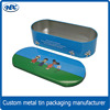 Hot sale pencil case, wholesale pencil tin can, empty pencil box