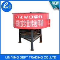 Easy to Operate JW350 Industrial Concrete Mixer Machine Pan Cement Mixer for Sale