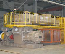 New technology automatic concrete block making