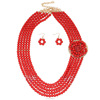 Classic Wedding Necklace ,Beaded Bridal Necklace Indian Jewelry Wholesale(swtvv005)