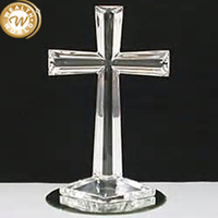 custom made crystal cross