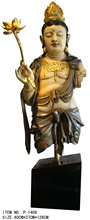 life size resin chinese god statue