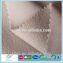 high quality fleece bonded fabric used for winter