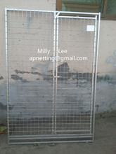 animal accessories /friendly metal large dog kennels /ANTI-CLIMB BAR SYSTEM /DOG RUN PEN CAGE