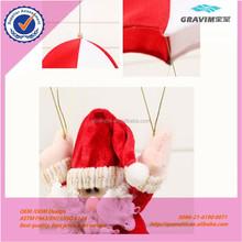 Santa Claus parachute plush toys