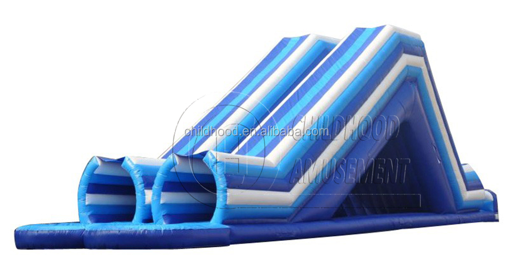 g ant tube double toboggan avec piscine adulte tube toboggan trampoline id de produit. Black Bedroom Furniture Sets. Home Design Ideas
