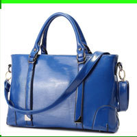 Guangzhou factory fashion wholesale pu leather bolsas de plastico