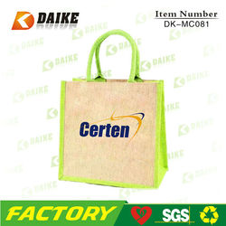 Promotion Shopper Handmade Linen Bags DK-MC081