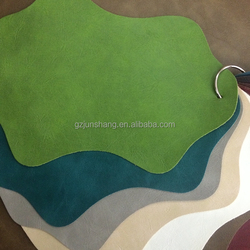 PVC synthetic leather for sofa upholstery usage, with very fashion colors