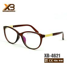 vendita calda marrone finto occhiali da vista ottica