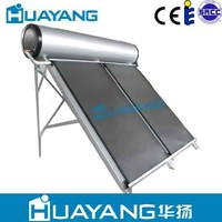 200L compact flat panel solar water heater