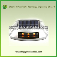IP68 high flashing aluminium led cat eye solar road marker stud side marker lights