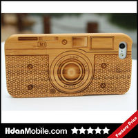 Engraving&Painting Wood Phone Case for iphone 5,Wooden Case for iphone 5S Wood Case