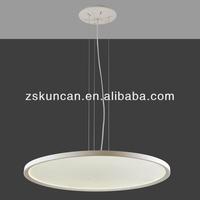 Big round panel led fiber optic light