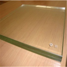5mm Ultra tempered+0.38mm+5mm ultra clear tempered laminated glass