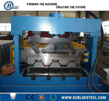 Floor Metal Decking Roll Forming Making Machine / Glazed Tile Making Machine