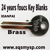 Southeast Asia Series Yale door key Blanks Wholesale