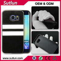 Super soft silicone material mobile phone leather case for Samsung galaxy S3 S4 S5 mini i9300 i9500 i9600 S6 edge Note 4
