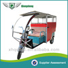 2014 new model ECO Friendly closed cabin electric passenger tricycle