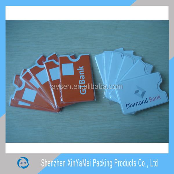 Пластик резинка пвх кредитной карты держатель
