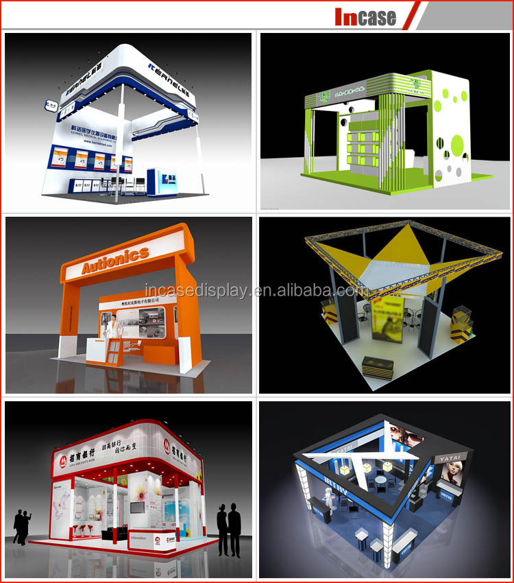 Standard Exhibition Booth : Standard exhibition booth material for
