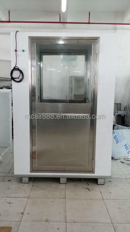Acier staniless de douche en plein air avec automatique porte pour salle blanche douche air id for Douche plein air