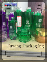 glass bottles cosmetic packaging for any style with painted color