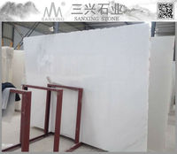 big slab form polshed china white marble slab