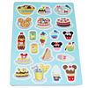 edcational fashion paper board puzzle game