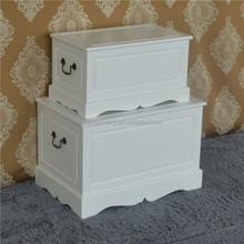 Wood trunks/toy box/storage cabinet