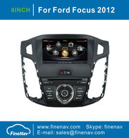 S100 1G CPU Car DVD For Ford Focus 2012 With Stereo GPS A8 Chipset Dual Core 3 Zone POP 3G Wifi BT 20 Dics Playing Free Map