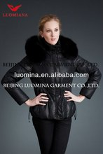Hot sale!!! down filled shiny fashion 2013 jacket model 811A020