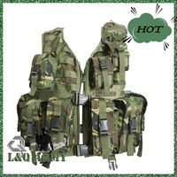 Breathable and comfortable Tactical Vest, High strength nylon thread, military army vest