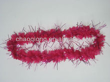 well-sale pink artificial flower garland wholesale with tassel
