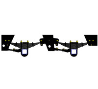 New modle 3-axle German type suspension