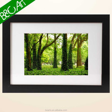 Wholesale Frame Green forest modern landscape paintings from shenzhen