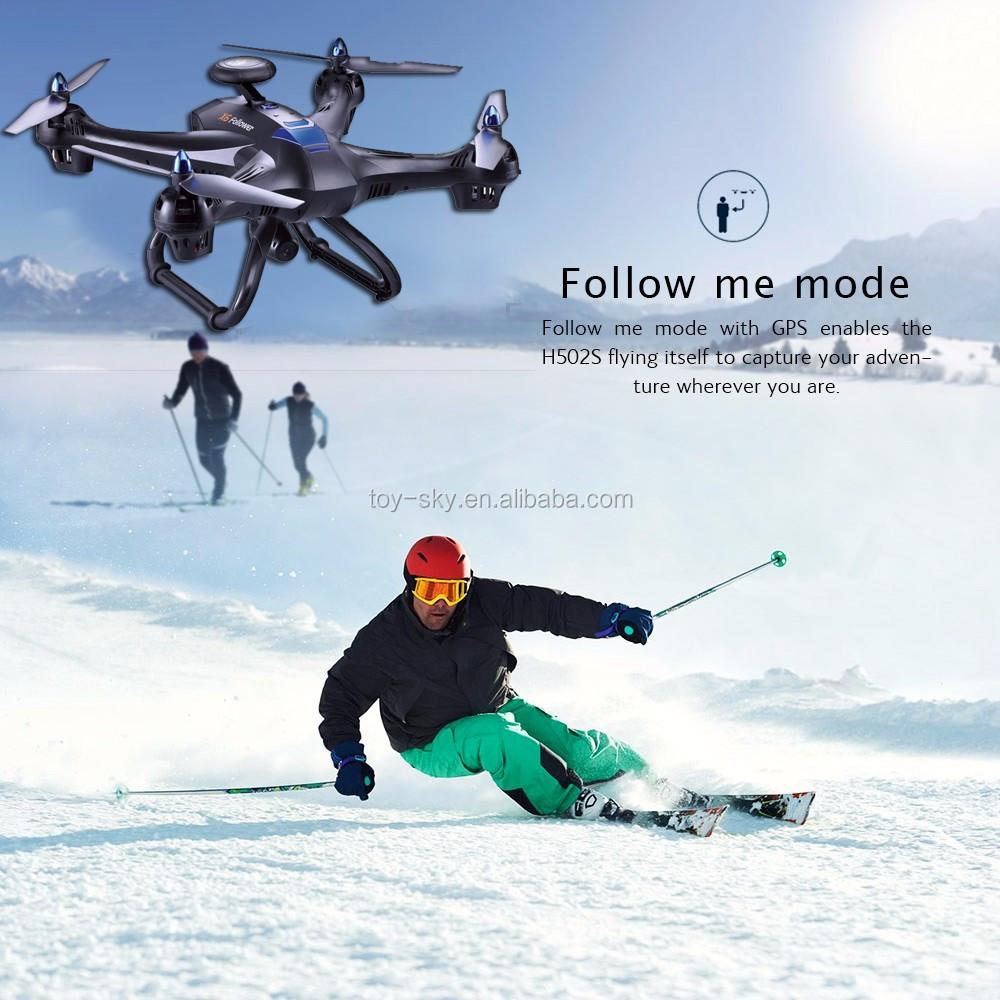 Toysky Top venda 5.8G 4CH 400 M long range siga-me FPV zangão GPS Profissional para fotografia aérea