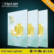 Edgelight AF40 advertisement light box put your picture in a frame china supplier
