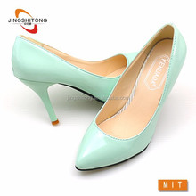 Lady high heel stiletto shoes pointy toe women court shoes