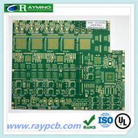 Solder mask resist green pcb/12v power supply pcb/green soldermask resist pcb