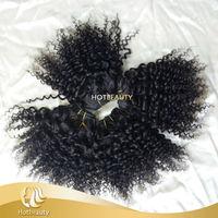 Virgin Brazilian Jerry Curl Hair Weave, Wholesale Brazilian Hair