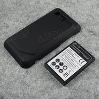 For HTC Incredible S /S710e Cellphone Extended Battery 3500mAh With Back Cover