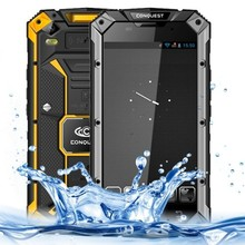 Clear Stock Conquest S6 5.0 inch Waterproof / Dustproof / Shockproof 3G Android Smart Phone Quad Core 1.5GHz, ROM: 8GB, RAM: 1GB