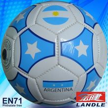 Machine Stitched PVC Synthetic Leather traditional soccer balls